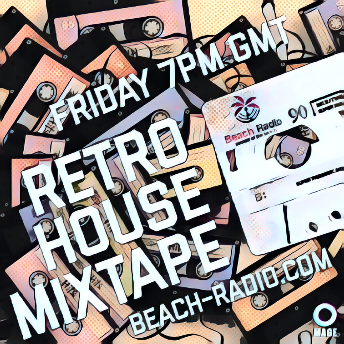Retro House Mixtape - Comic Book Style Logo