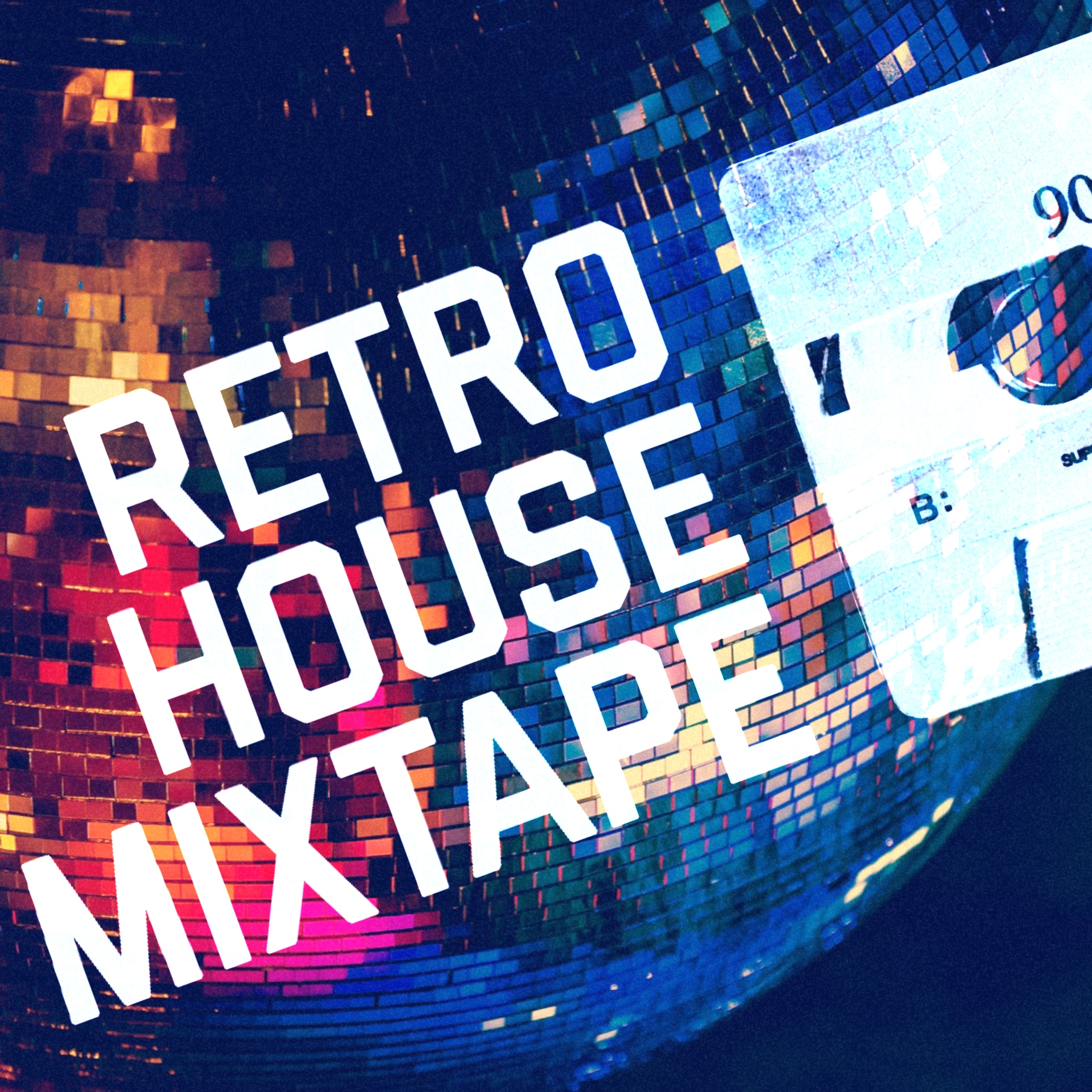Retro House Mixtape Logo