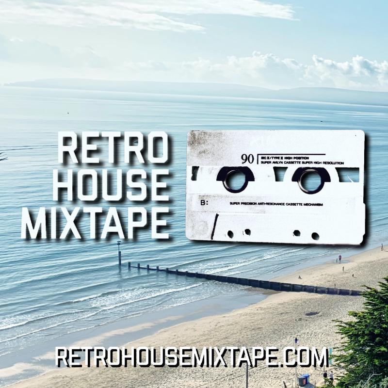 Retro House Mixtape - Episode 111 Artwork (Bournemouth Beach)